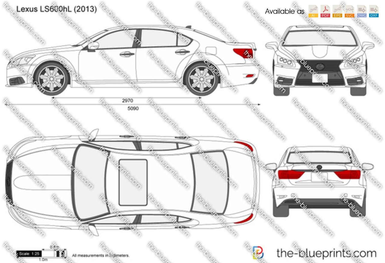 Lexus LS600hL 2014