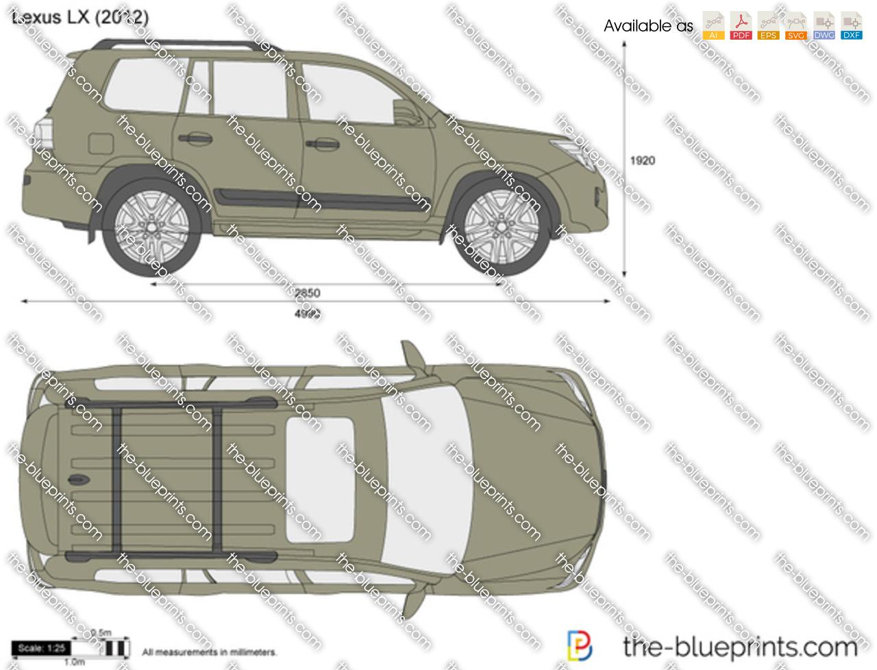 Lexus LX 2013