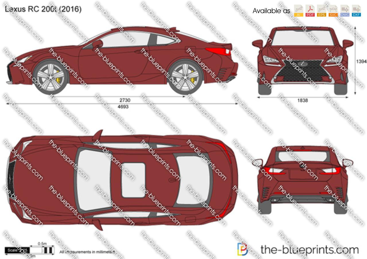 Lexus RC 200t 2017