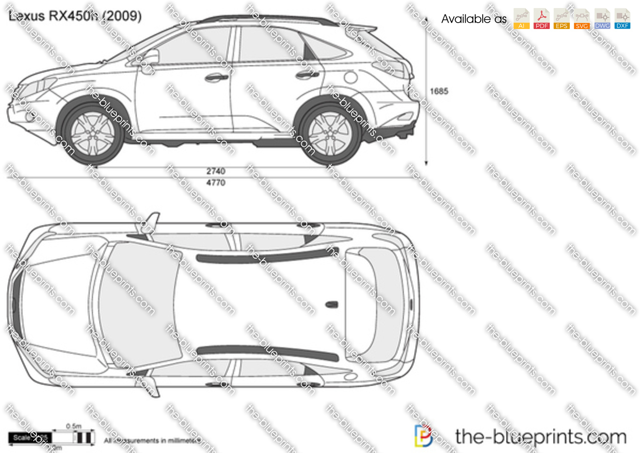 Lexus RX450h 2007
