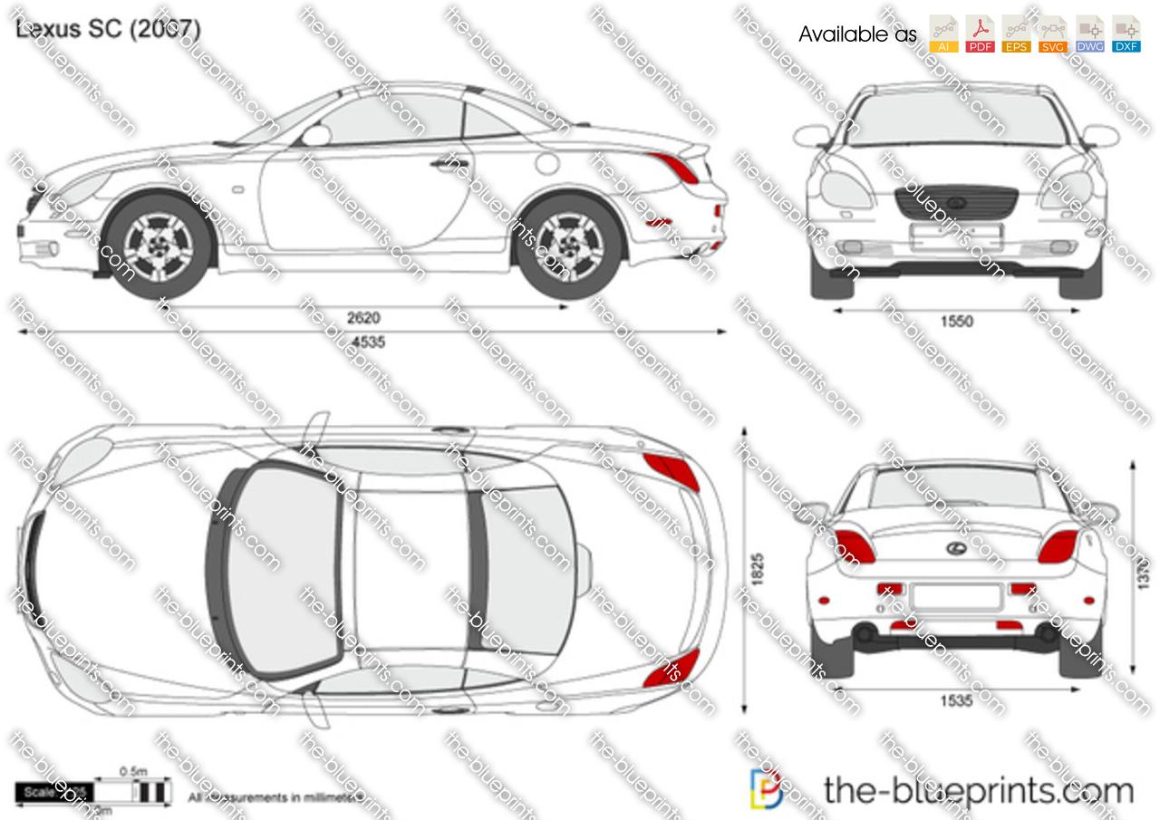 Lexus SC 2001