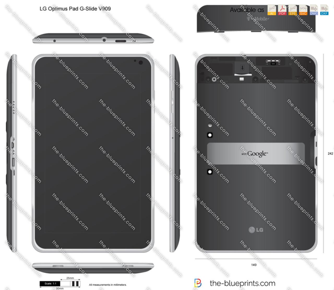 LG Optimus Pad G-Slide V909