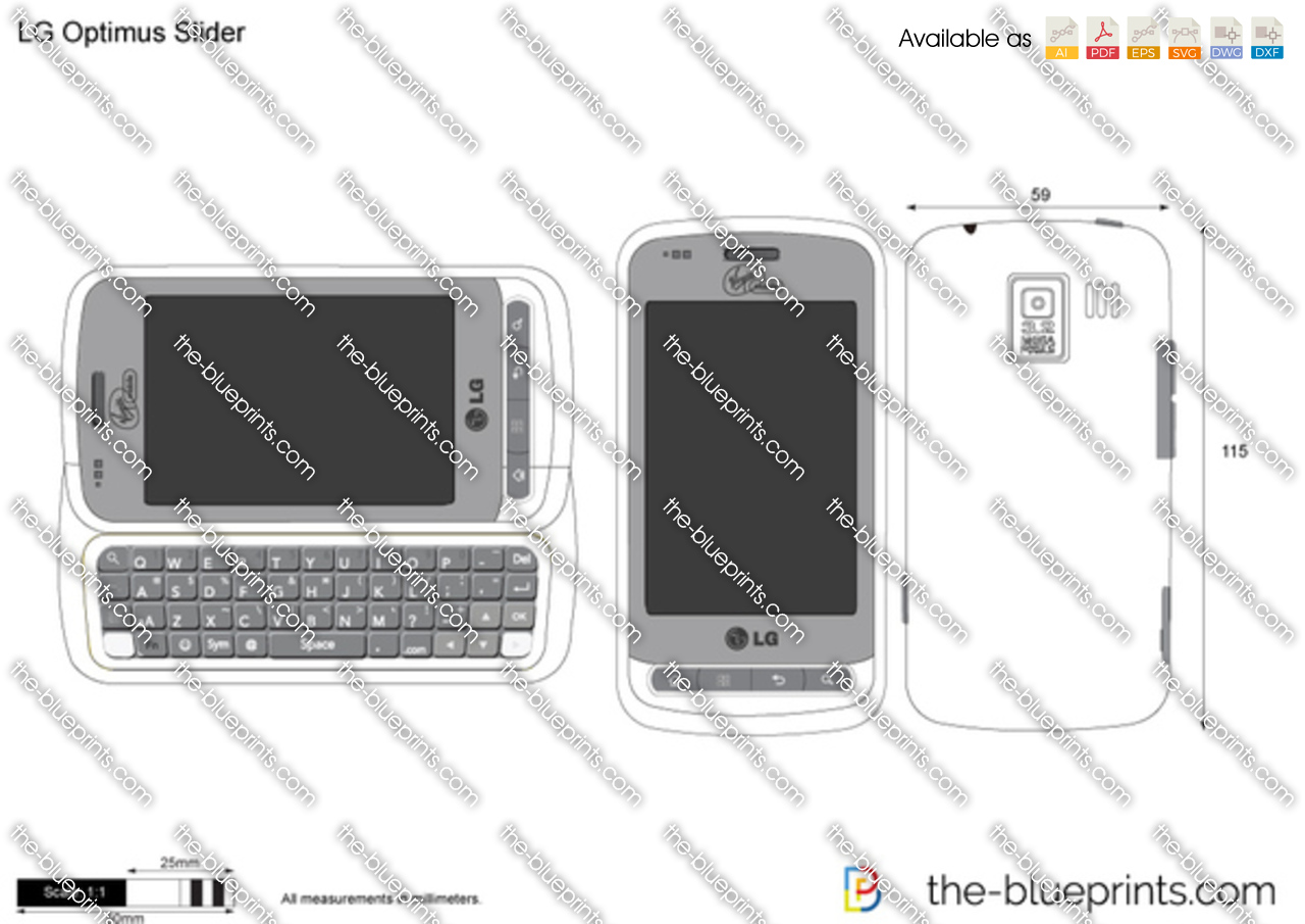 LG Optimus Slider