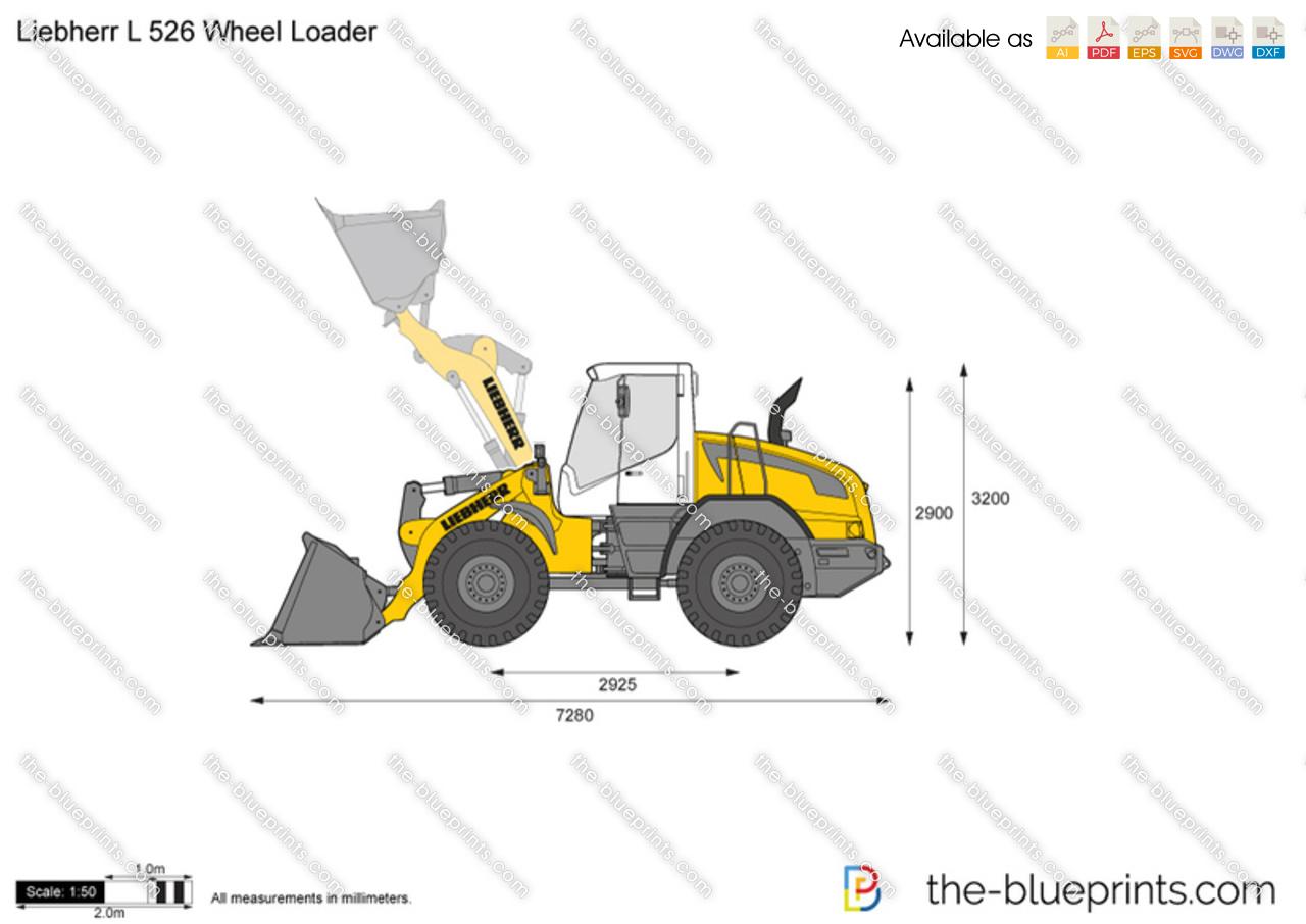 Liebherr L 526 Wheel Loader
