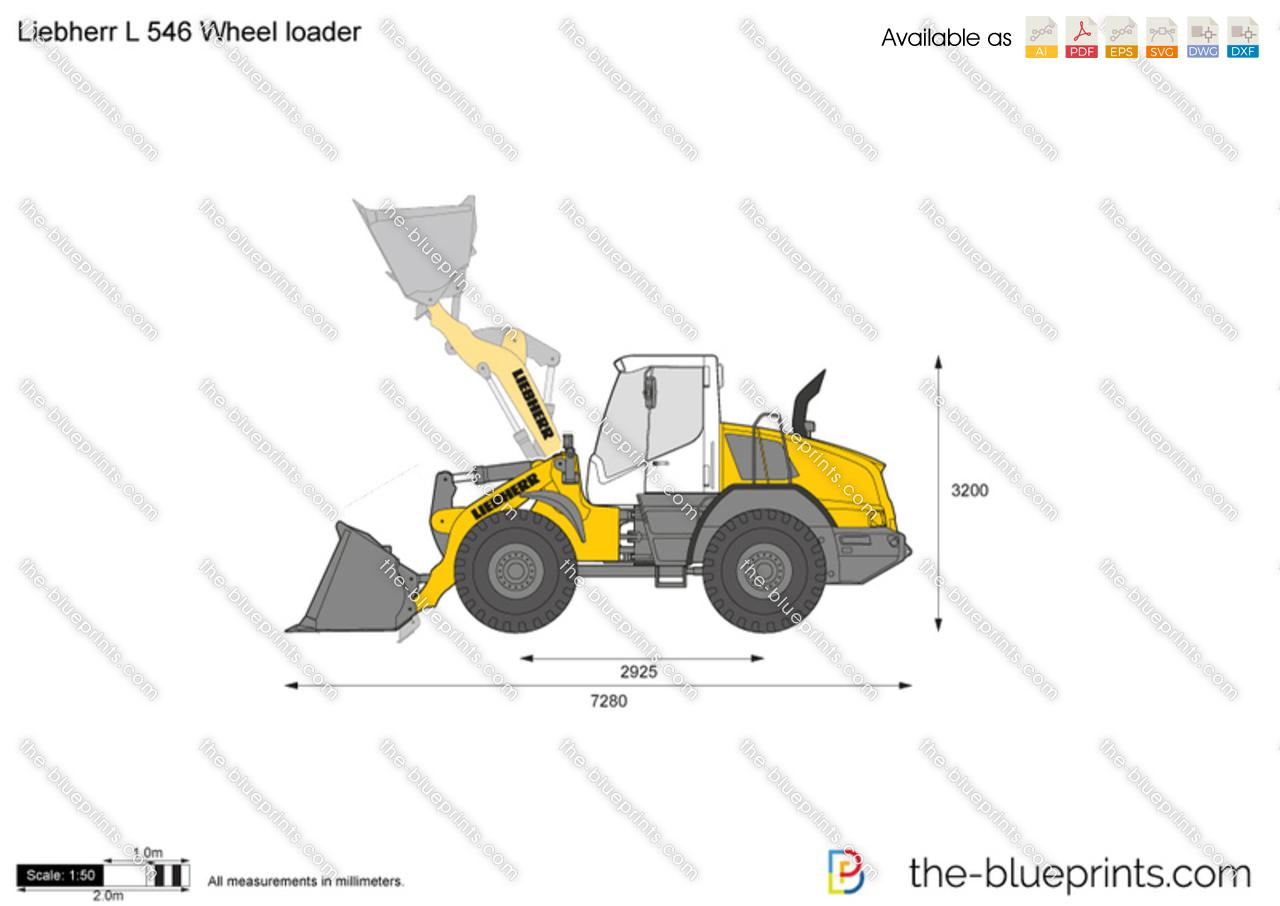 Liebherr L 546 Wheel loader
