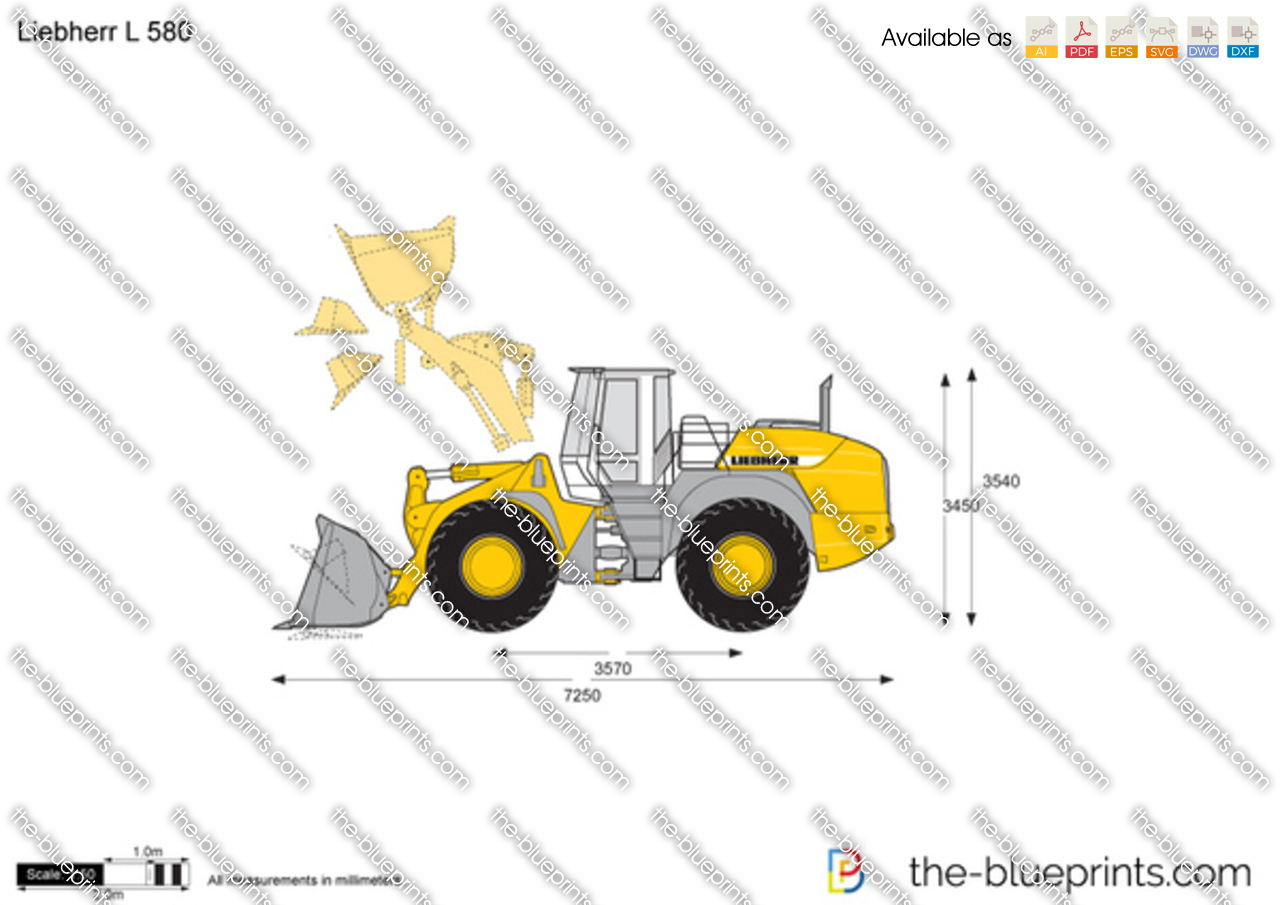 Liebherr L 580 Wheel Loader