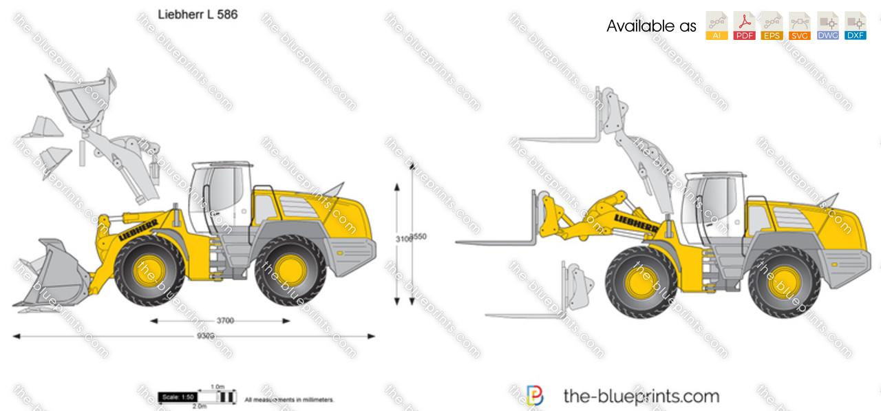 Liebherr L 586 Wheel Loader