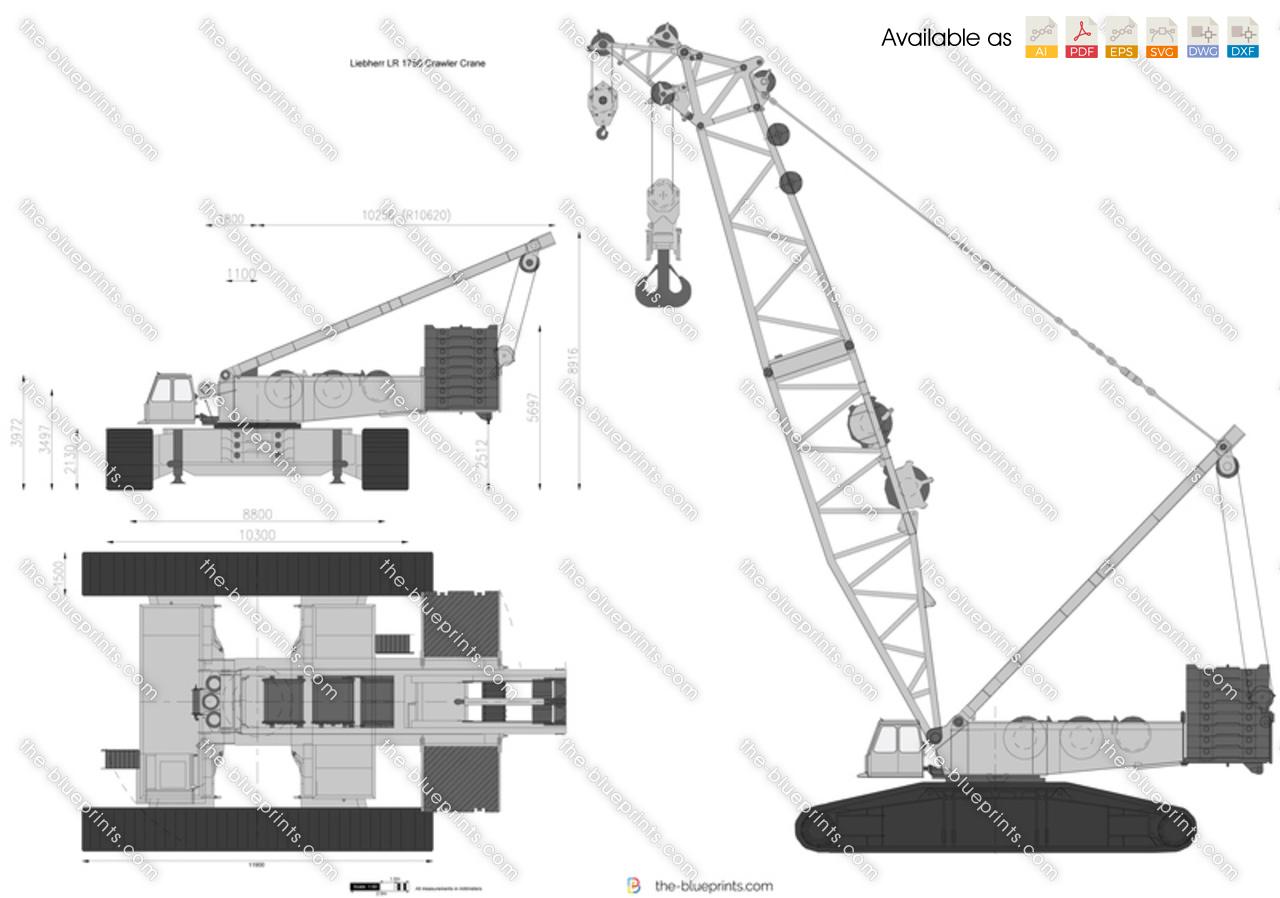 Liebherr LR 1750 Crawler Crane