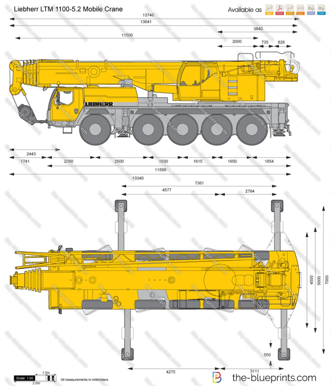 Liebherr LTM 1100-5.2 Mobile Crane