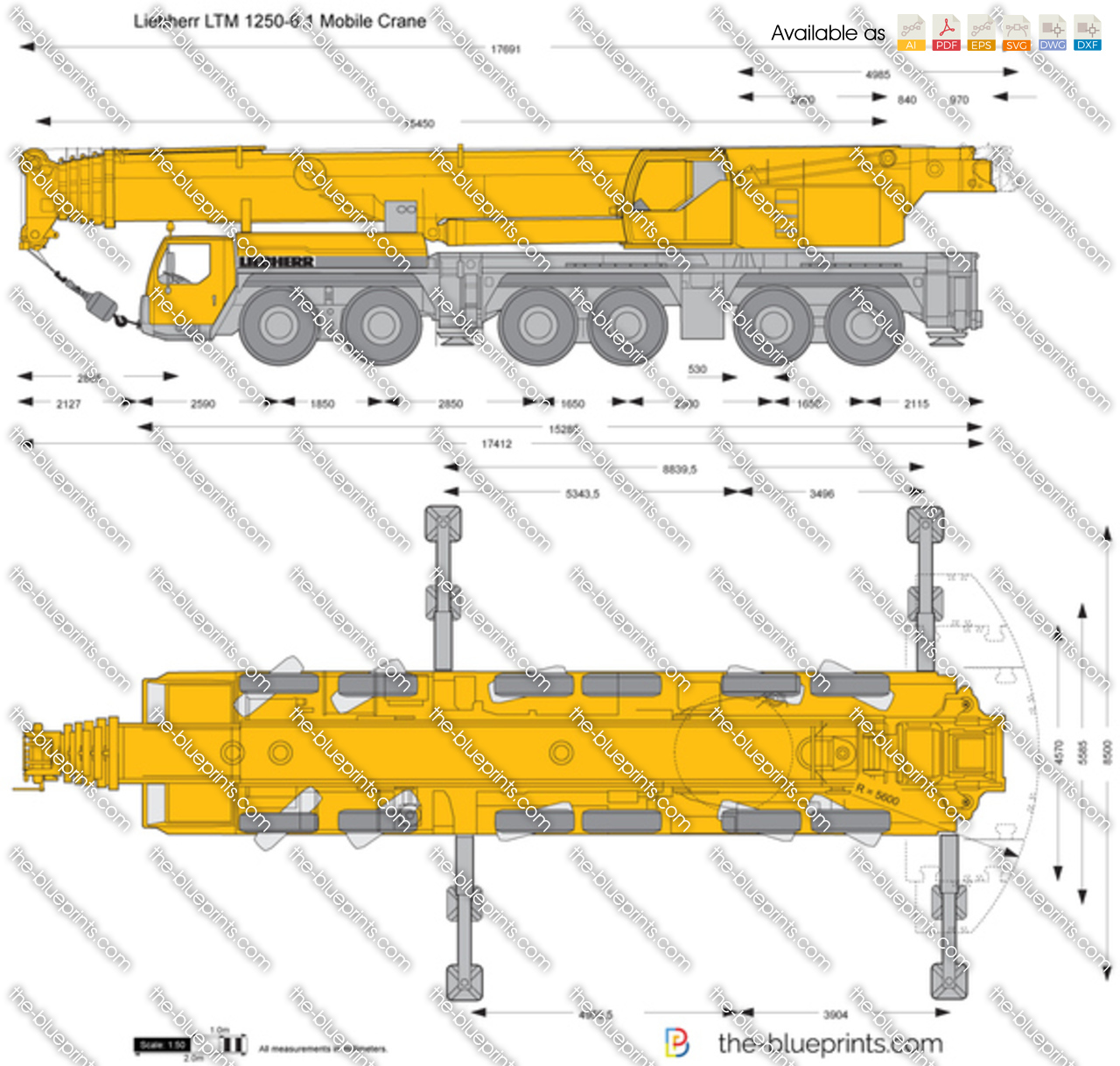 Liebherr LTM 1250-6.1 Mobile Crane