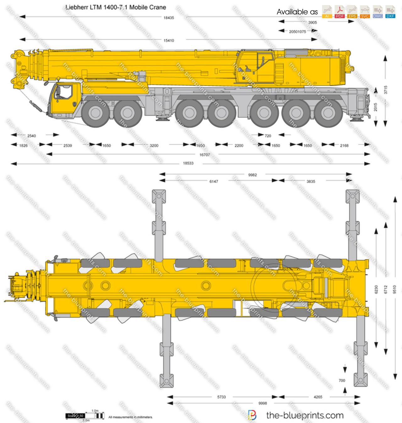 Liebherr LTM 1400-7.1 Mobile Crane