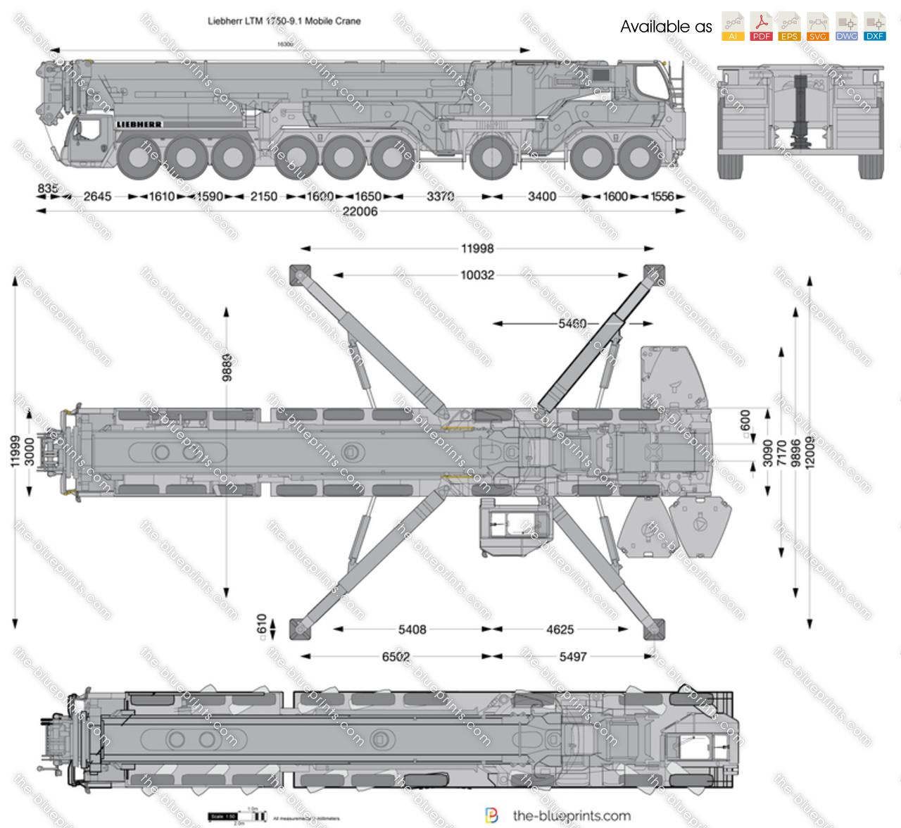 Liebherr LTM 1750-9.1 Mobile Crane