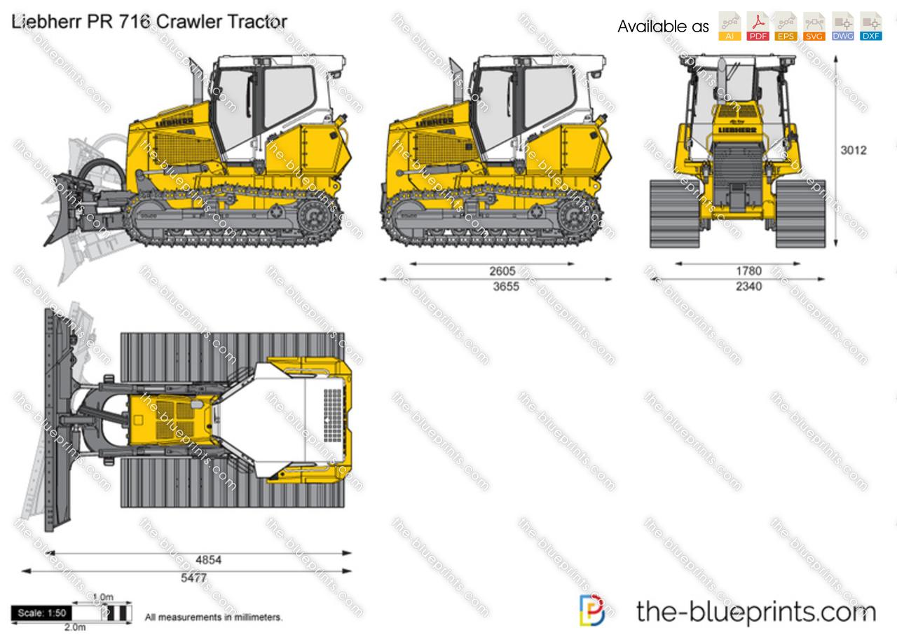 Liebherr PR 716 Crawler Tractor