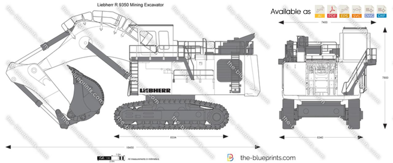 Liebherr R 9350 Mining Excavator