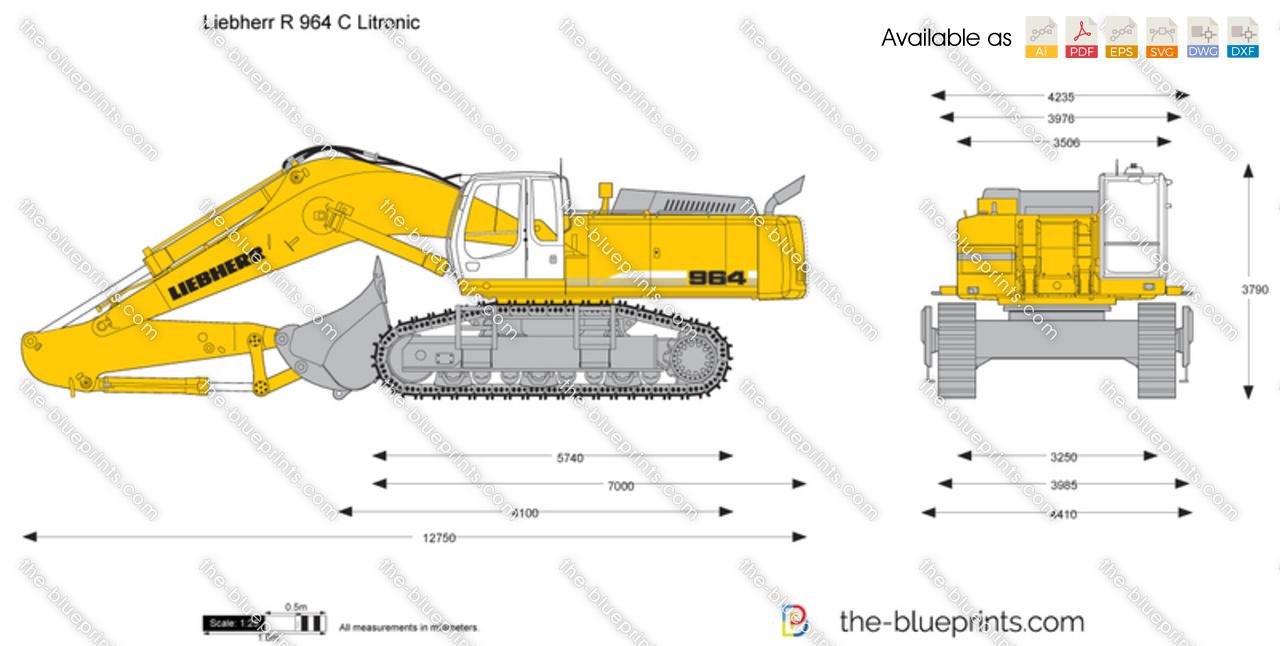 Liebherr R 964 C Litronic Excavator
