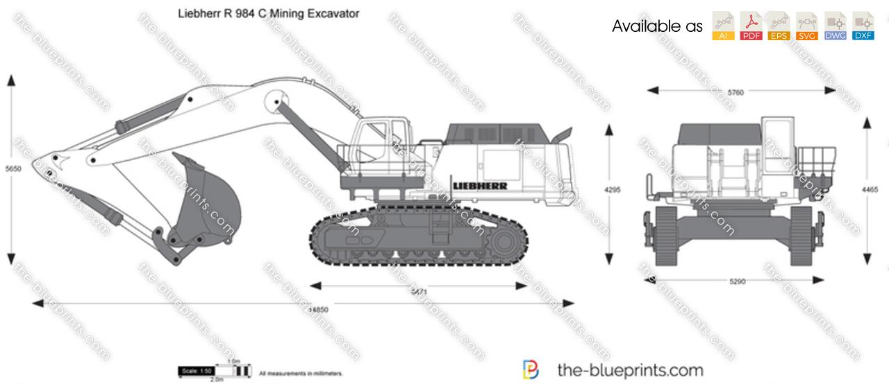 Liebherr R 984 C Mining Excavator