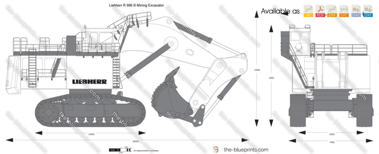 Liebherr R 996 B Mining Excavator