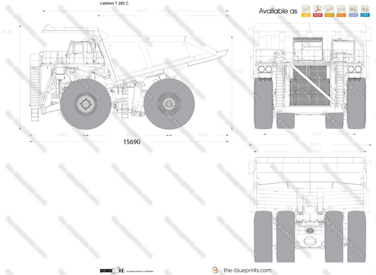 Liebherr T 282 C Dump Truck