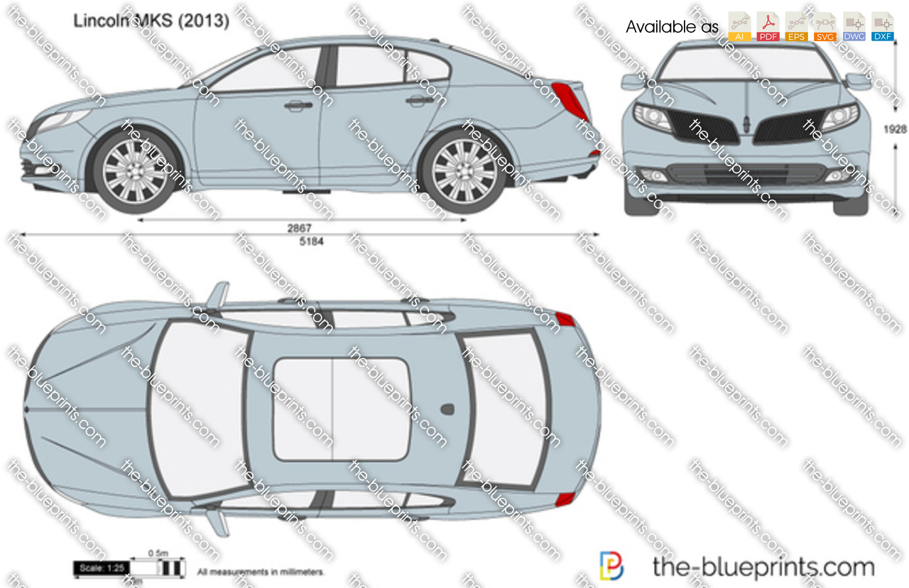 The Blueprints Com Vector Drawing Lincoln Mks