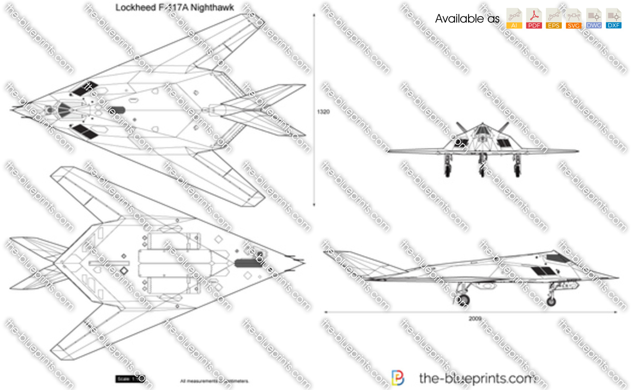 F 117 Model Plans http://the-blueprints.com/vectordrawings/show/1291/lockheed_f-117a_nighthawk/