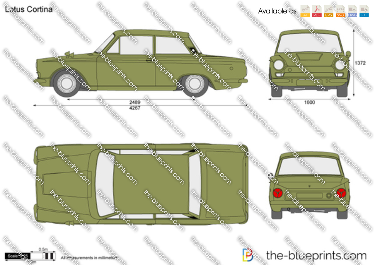Lotus Cortina 1964