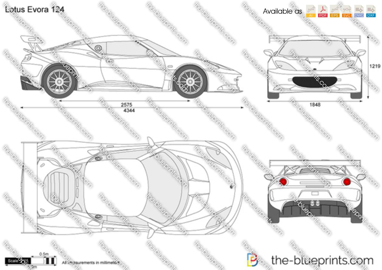 Lotus Evora 124 2012