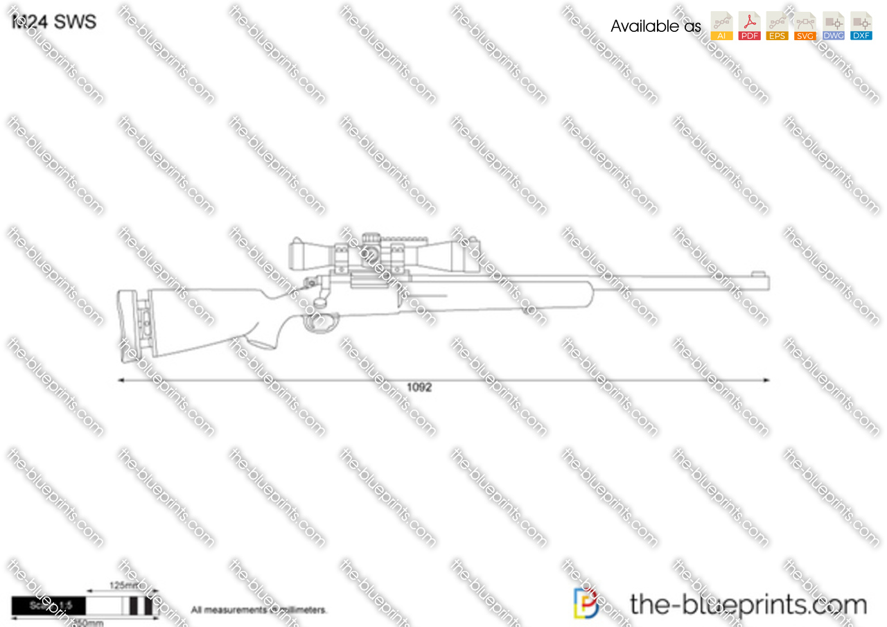 M24 sws vector drawing for Where to get blueprints