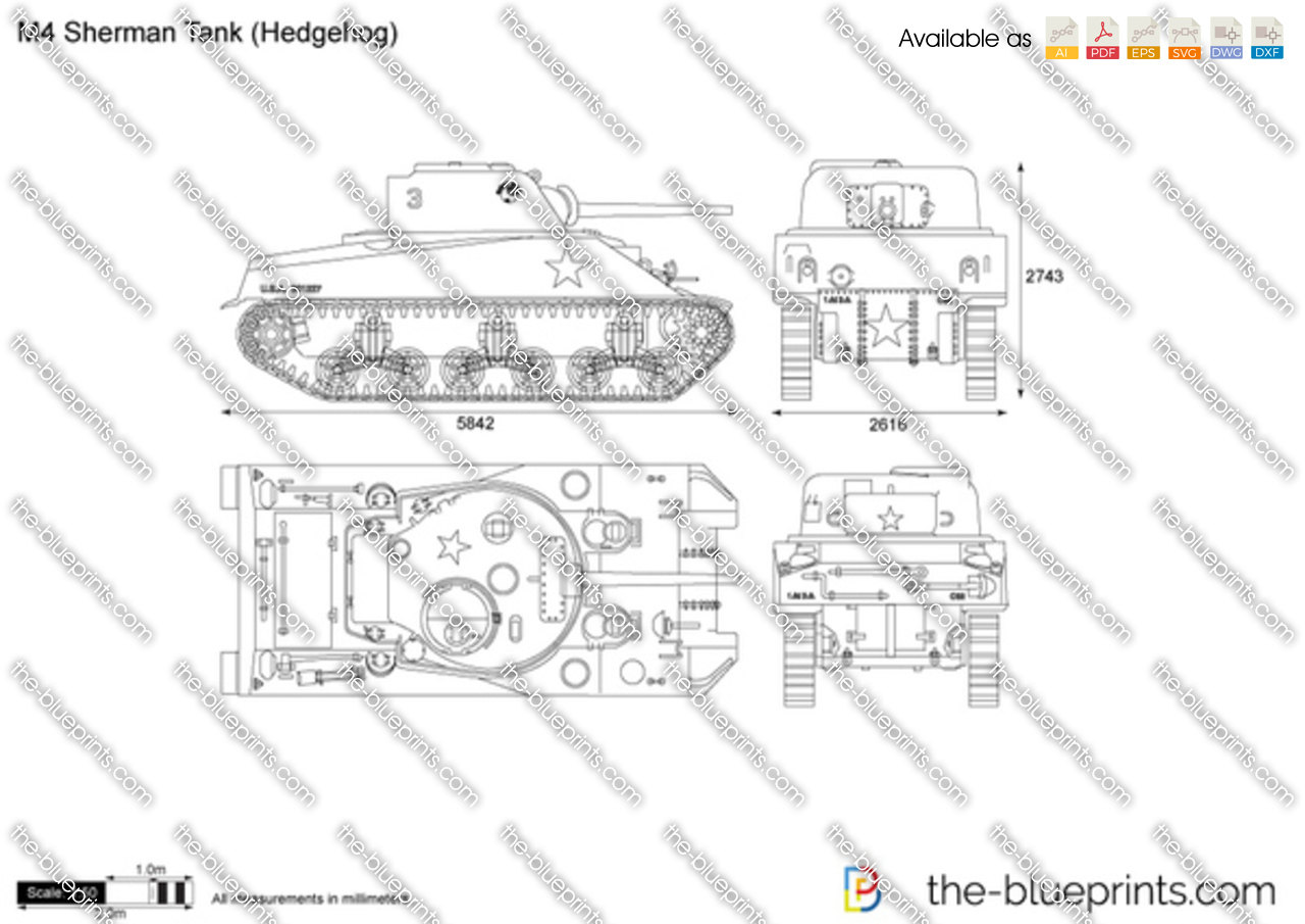 M4 Sherman Tank (Hedgehog)