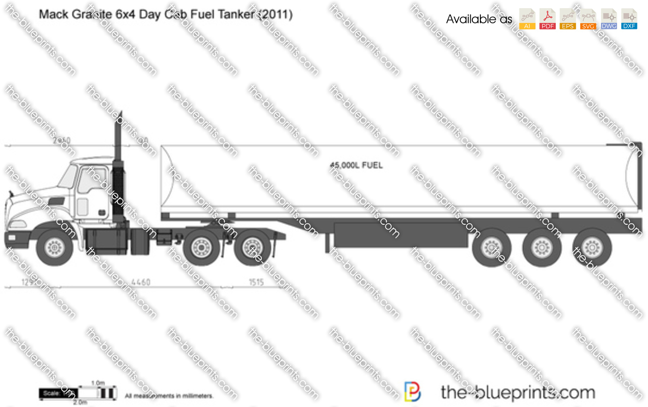 Mack Granite 6x4 Day Cab Fuel Tanker