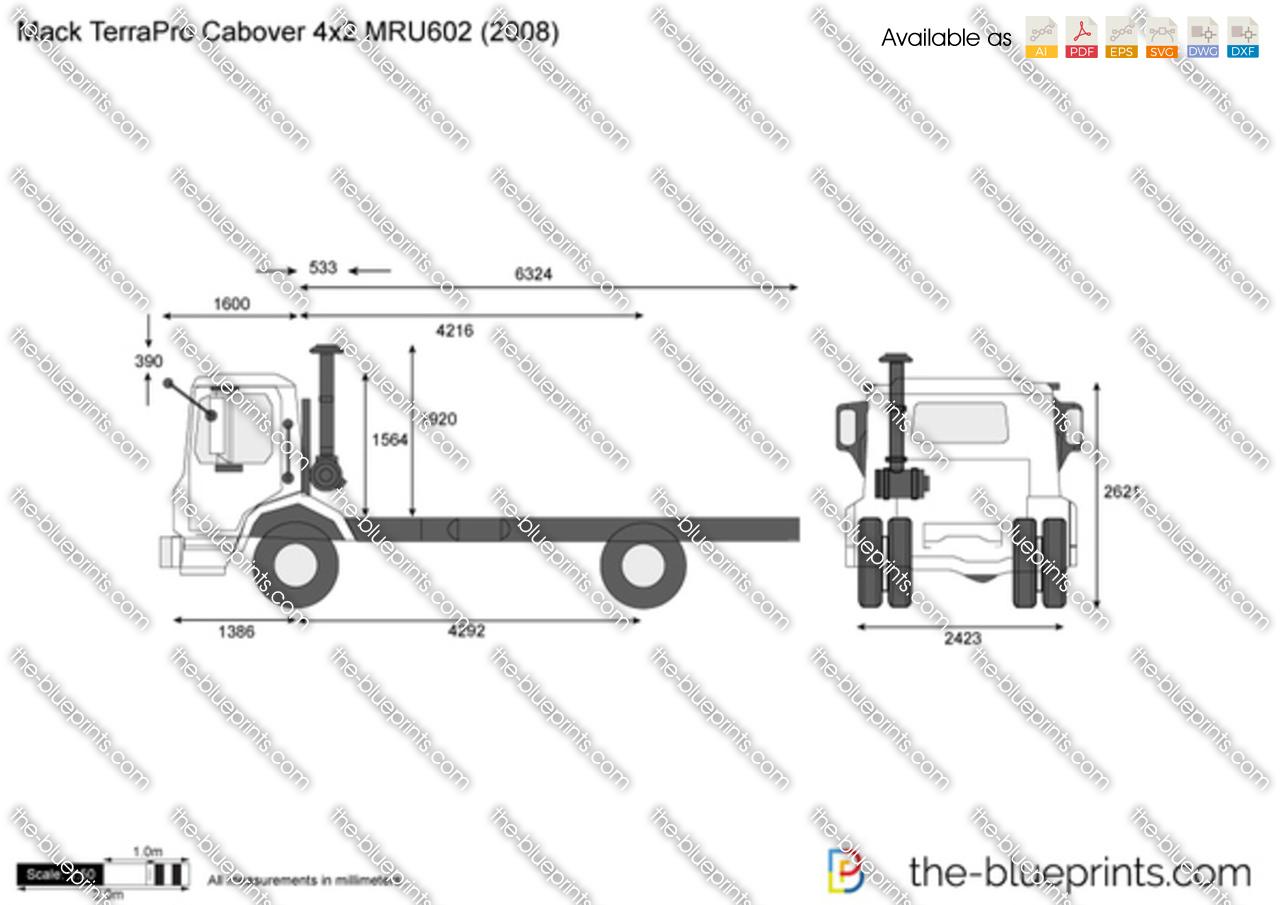 Mack TerraPro Cabover 4x2 MRU602