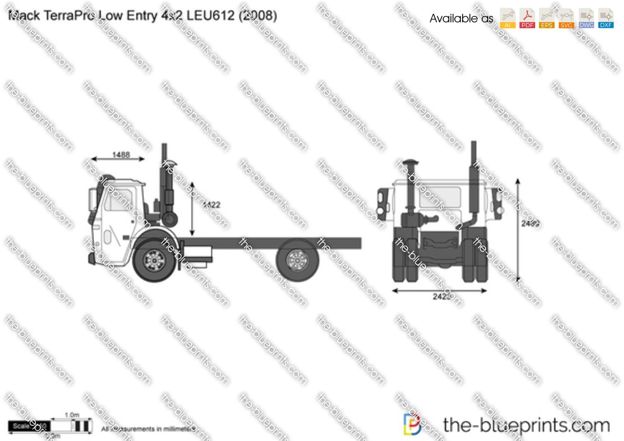 Mack TerraPro Low Entry 4x2 LEU612