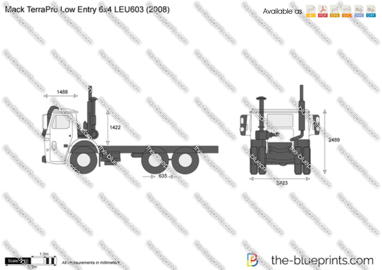 Mack TerraPro Low Entry 6x4 LEU603
