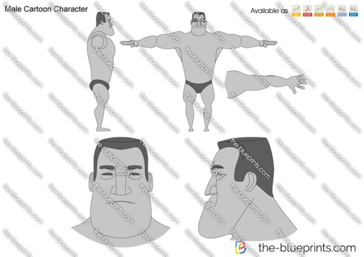 Blueprints humans humans male cartoon character malvernweather Image collections