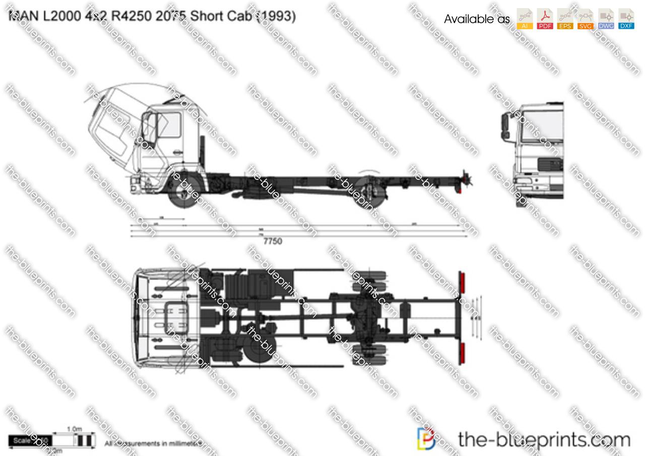 MAN L2000 4x2 R4250 2075 Short Cab