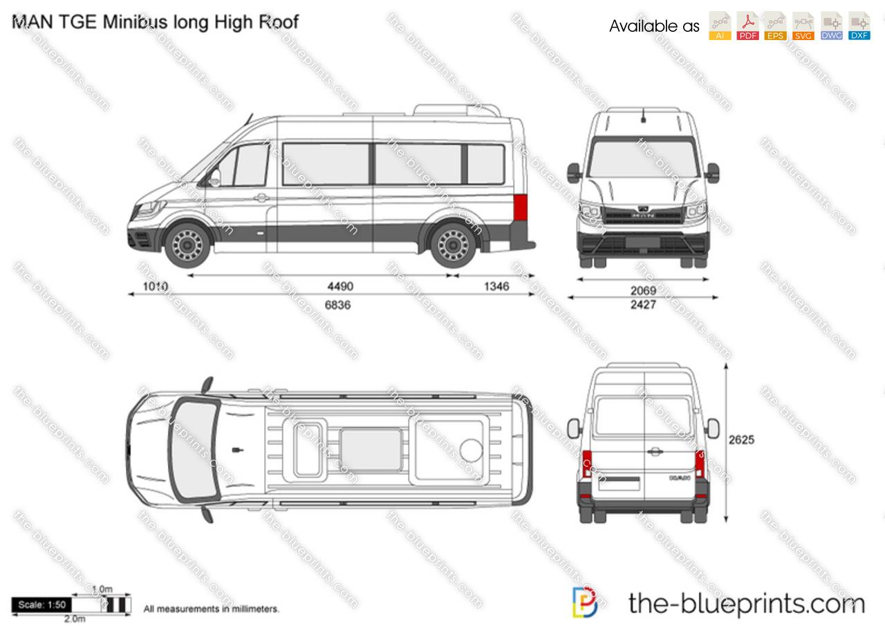 MAN TGE Minibus long High Roof