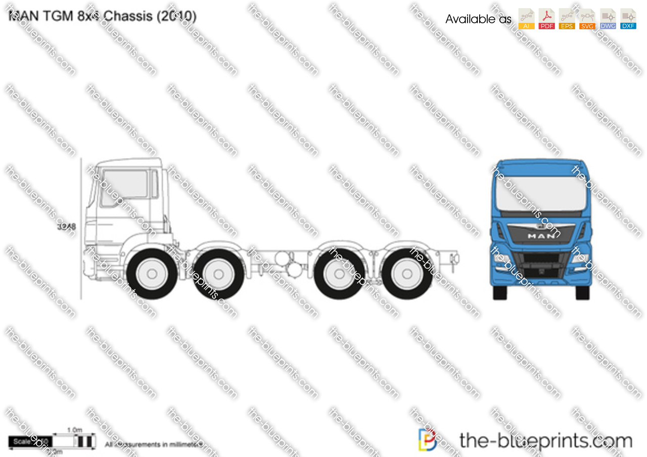MAN TGM 8x4 Chassis