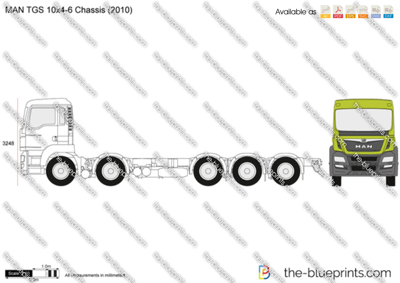MAN TGS 10x4-6 Chassis 2016