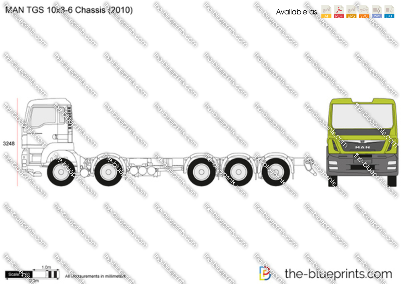 MAN TGS 10x8-6 Chassis
