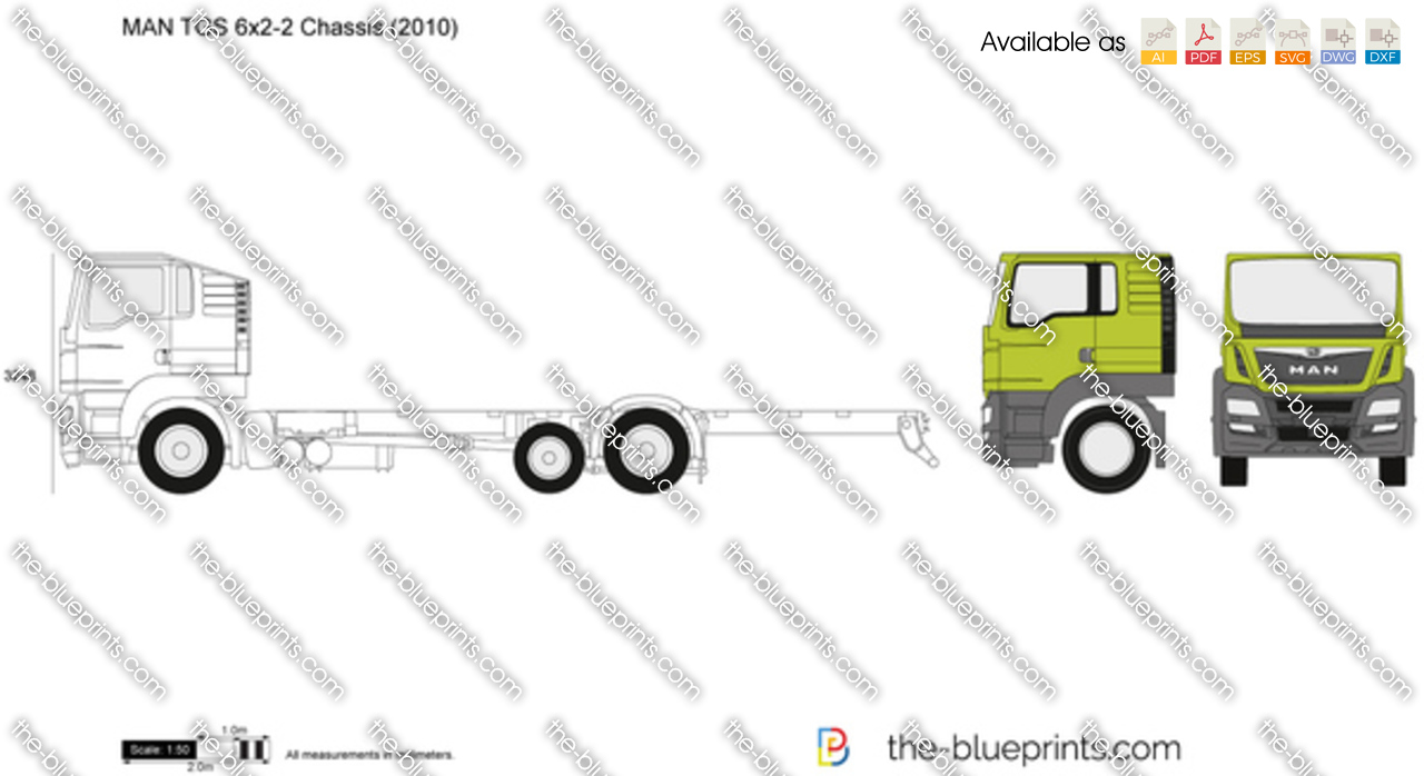 MAN TGS 6x2-2 Chassis