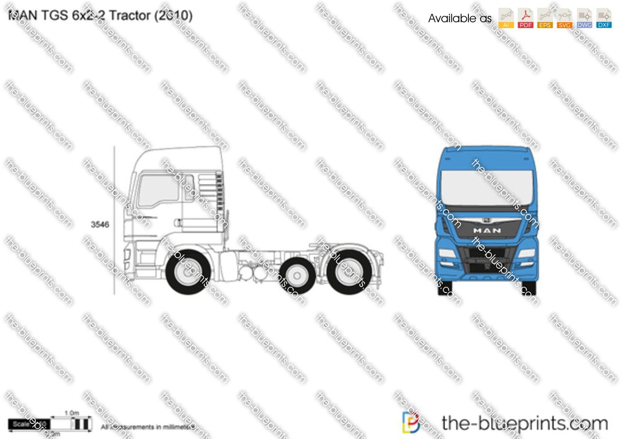 MAN TGS 6x2-2 Tractor