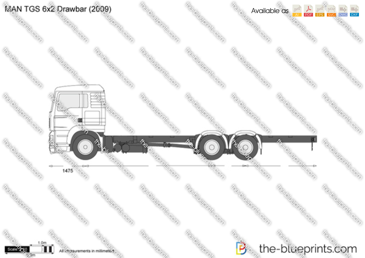 MAN TGS 6x2 Drawbar