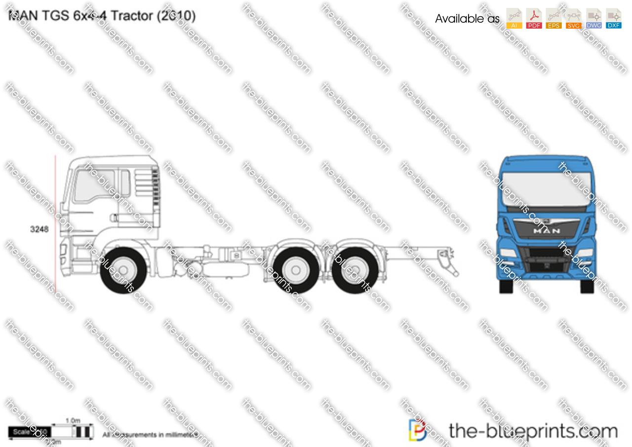 MAN TGS 6x4-4 Tractor