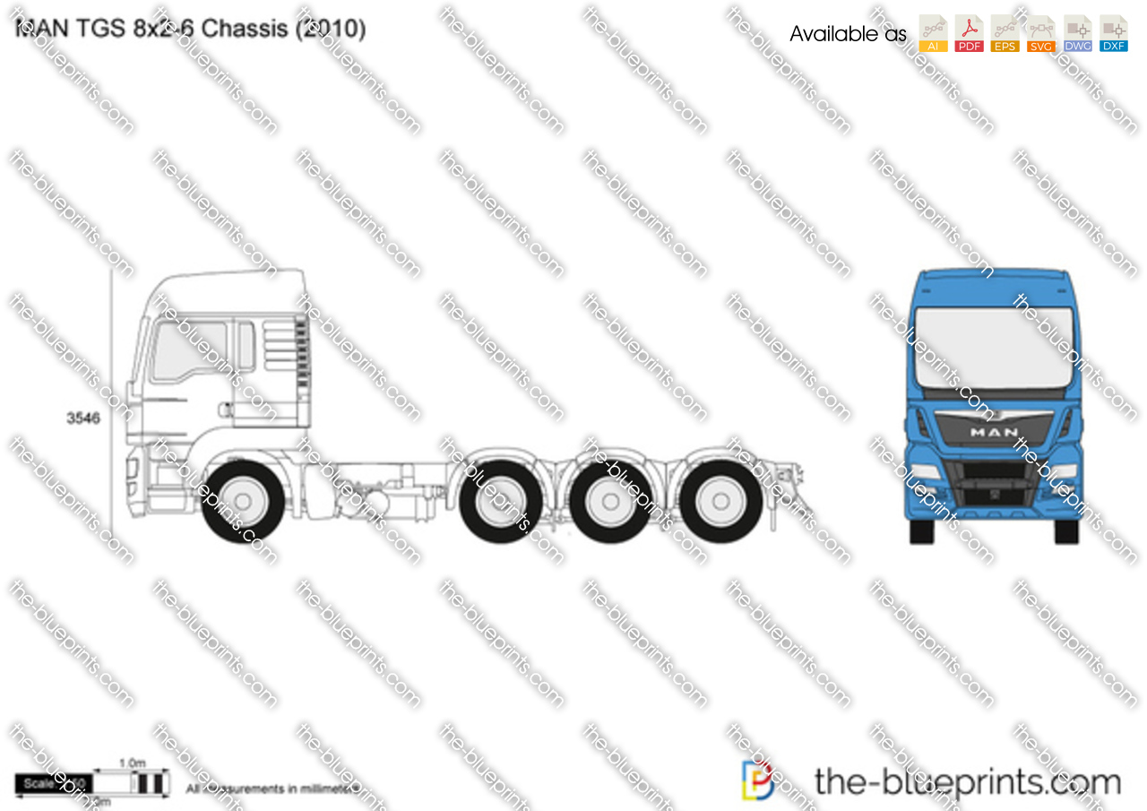 MAN TGS 8x2-6 Chassis