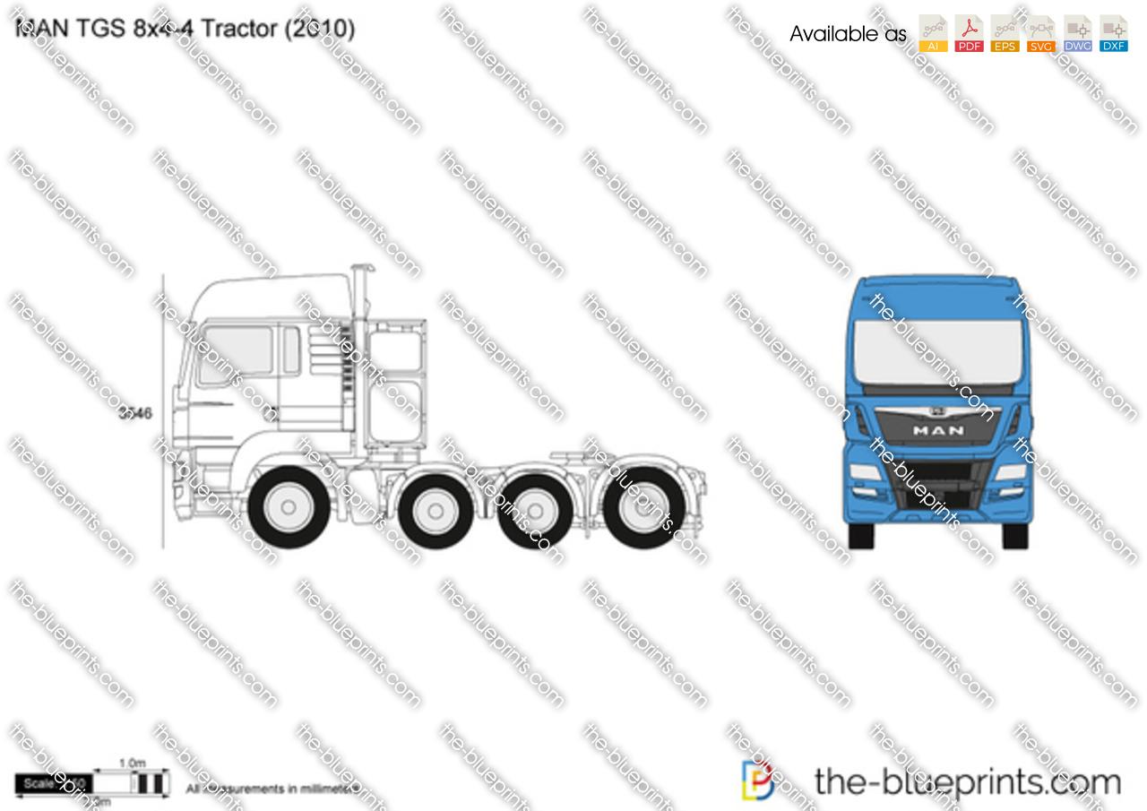 MAN TGS 8x4-4 Tractor