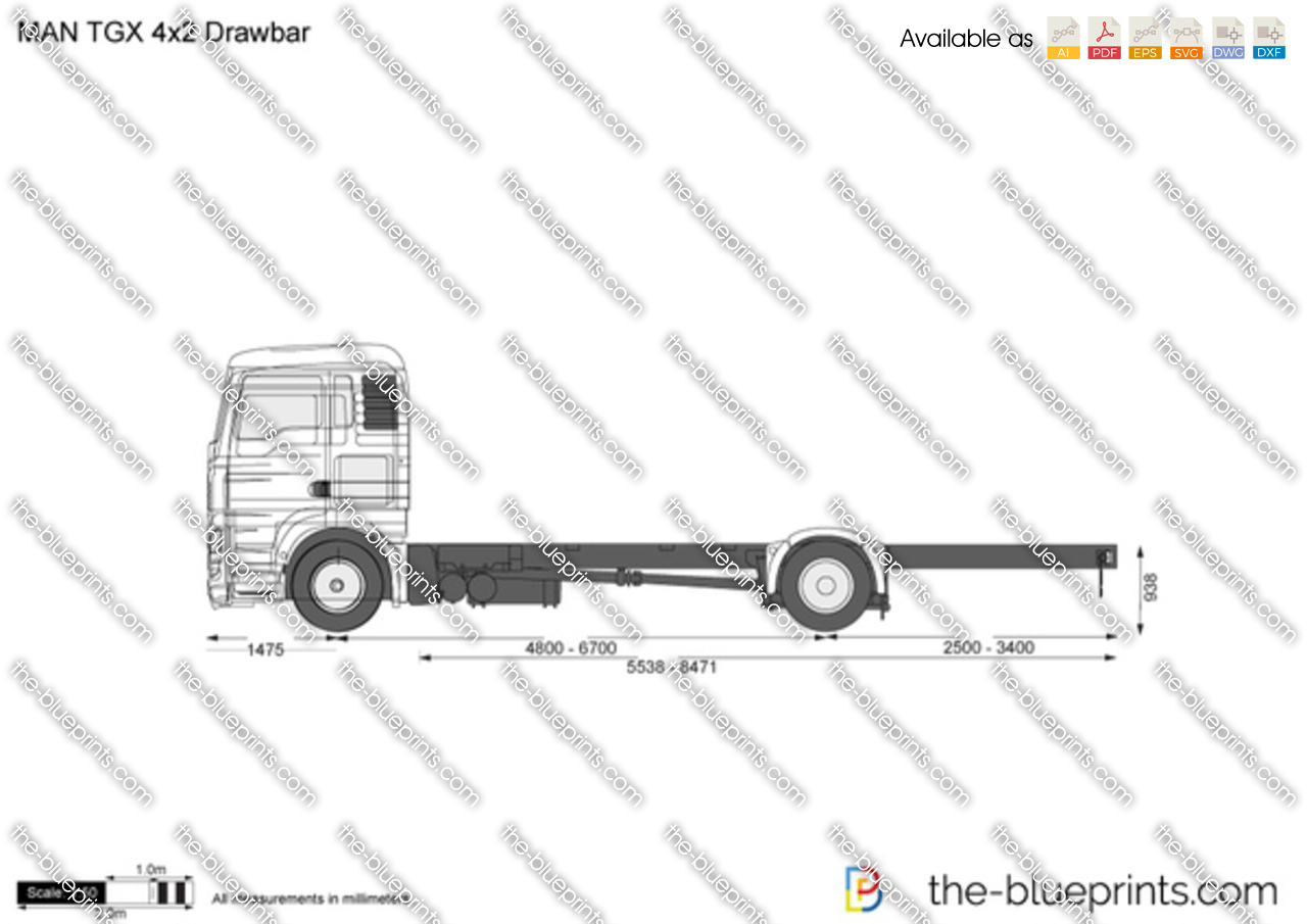 MAN TGX 4x2 Drawbar