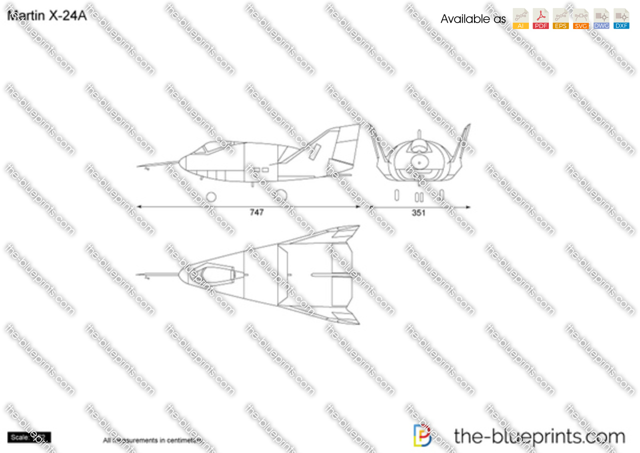 Martin X-24A