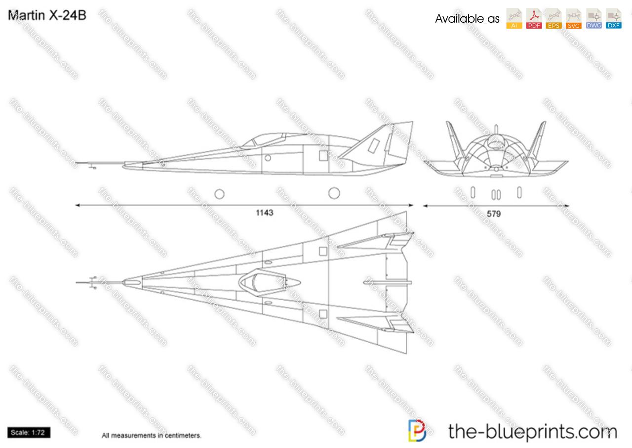 Martin X-24B