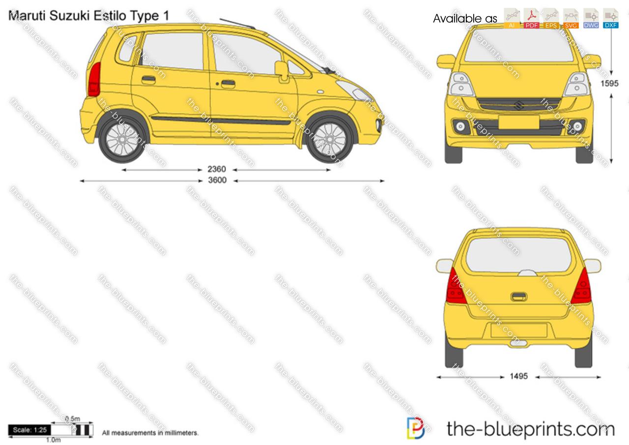 Maruti Suzuki Estilo Type 1