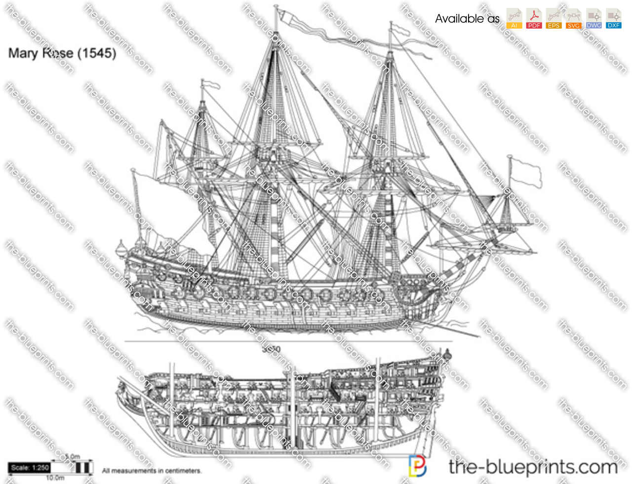 Mary Rose 1545