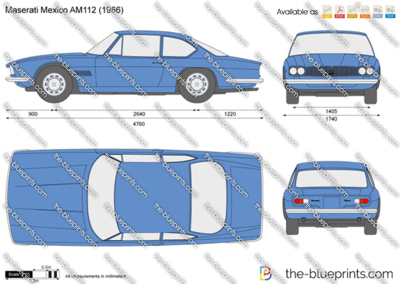 Maserati Mexico AM112 1968